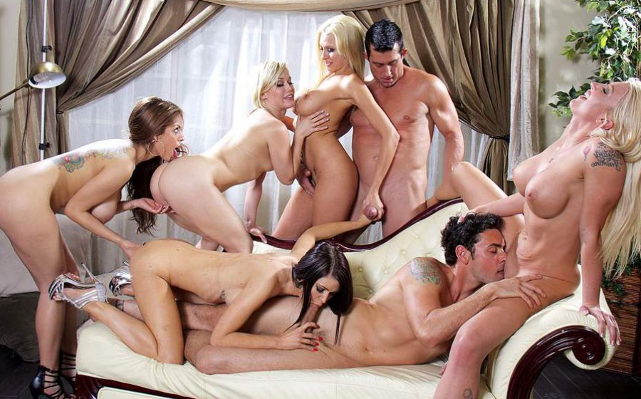A Party Between Friends That Ends In An Orgy